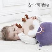 寶寶防摔頭部保護墊嬰兒學走路兒童學步護頭枕小孩防撞帽神器夏季