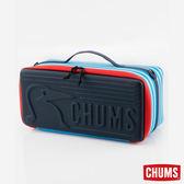 CHUMS 日本 Booby 收納盒 玩具收納箱(L) 藍白條紋 CH621206W042