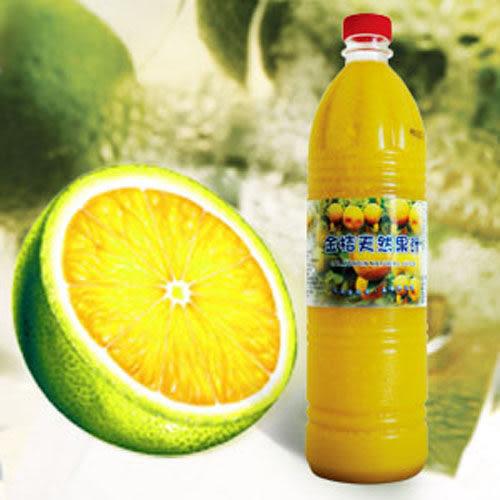【永大】金桔天然果汁 (950g*20入/箱) 冷凍配送