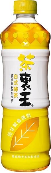 【茶裏王】台式綠茶600ml,24瓶/箱,平均單價18.71元