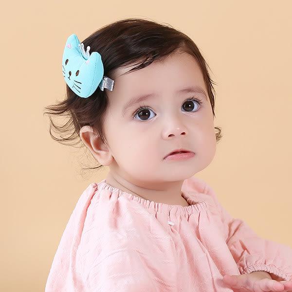 果漾妮妮  韓國款可愛皇冠貓咪 雙刀夾/寶寶髮夾/兒童髮飾/瀏海夾/邊夾-現貨2色【H7807】
