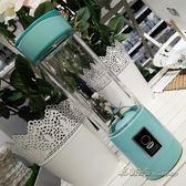 220V 迷你榨汁杯電動便攜充電式榨汁機攪拌輔食玻璃學生宿舍【米蘭街頭】igo