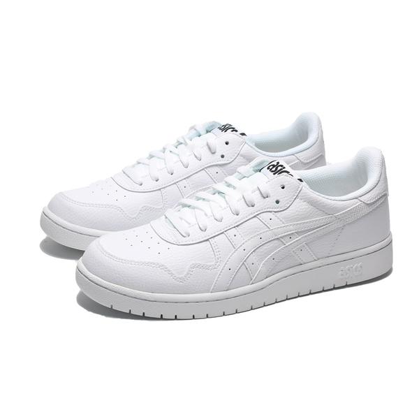 ASICS TIGER JAPAN S 全白 休閒  板鞋 男(布魯克林) 1191A163100