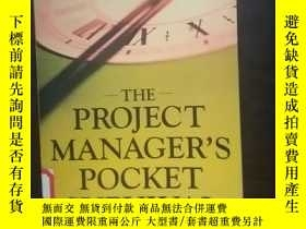 二手書博民逛書店the罕見project manager s pocket su