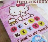 【卡漫城】Hello Kitty 毛毯 ㊣版 凱蒂貓 三麗鷗 冷氣毯 毯子 薄毯 舒眠毯 台灣製 刷毛