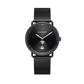 【Paul Hewitt】德國船錨簡約時尚腕錶-質感黑/PH-BW-BGM-BS-5M/台灣總代理公司貨享兩年保