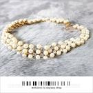 宴會尾牙新娘項鍊耳環配飾珍珠鎖骨-單個[57421]