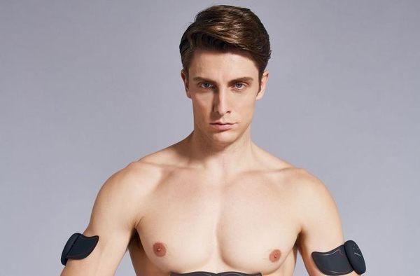智能健身儀收腹部貼運動肌肉健身器材家用懶人鍛煉健腹器八塊腹肌