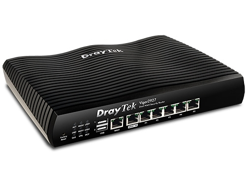 【上網註冊保固1+1年】 DaryTek 居易 Vigor 2927 頻寬管理 雙WAN VPN防火牆 路由器