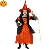 兒童萬聖節服裝 萬聖節兒童巫婆