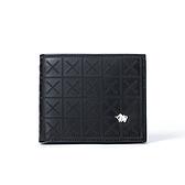 【南紡購物中心】DRAKA 達卡 - 極品布雅德幾何系列 -真皮短夾-3411