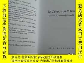 二手書博民逛書店Le罕見vampire du Milieu 法文原版 20開 品