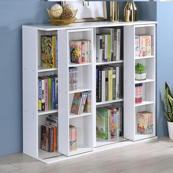【品味玩傢】小尺寸雙排活動書櫃 大容量書櫃 寬60CM 全鋼鐵鋼珠滑輪 展示櫃