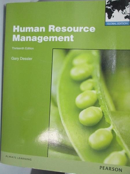 【書寶二手書T7/大學社科_DM2】Human Resource Management 13/e_Dessler