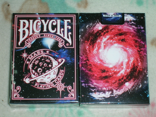 【USPCC撲克】Bicycle Mars deck 火星