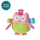 MaryMeyer美國蜜兒 可愛造型搖鈴標籤 安撫系列-貓頭鷹