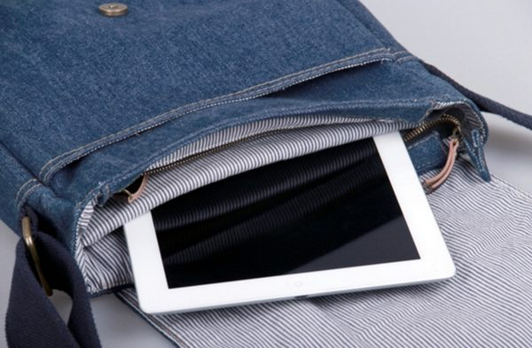 PA079 熱銷日韓 丹寧 牛仔包 旅行包 書包 電腦包 肩背手提 斜背 女包 經典款