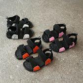 2018夏季韓版時尚男童女童涼鞋休閒學生鞋潮鞋中大童沙灘鞋露趾鞋