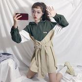 秋裝新款韓版秋天chic風衣外套女春秋寬鬆薄款中長款上衣學生 時尚潮流