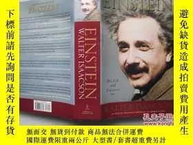 二手書博民逛書店Einstein:罕見His Life and Universe
