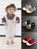嬰兒鞋 學步鞋男寶寶鞋子1-3歲秋季嬰兒軟底秋冬季加絨0一2女男童不掉鞋 歐歐流行館