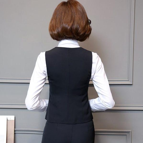 女 OL 背心 馬甲 西裝背心 女西裝背心wcps20