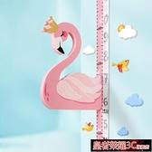 身高貼 兒童身高墻貼3d立體量身高貼尺寶寶可移除卡通精準測量儀小孩家用YTL