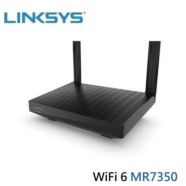 【南紡購物中心】Linksys 雙頻 MR7350 MAX-STREAM Mesh WiFi 6 路由器
