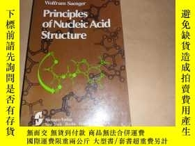 二手書博民逛書店principles罕見of nucleic acid stru