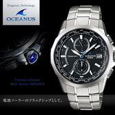 【人文行旅】OCEANUS   OCW-S2000-1A2 高科技智慧電波錶