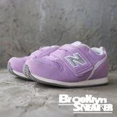 NEWBALANCE NB996  粉紫白 麂皮 魔鬼氈 黏帶 小童 (布魯克林) FS996BRI