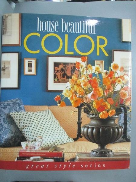 【書寶二手書T1/設計_YKC】House Beautiful Colour_Sally Clark