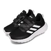 adidas 慢跑鞋 Tensaur Run C 黑 白 童鞋 中童鞋 運動鞋 【ACS】 EG4146