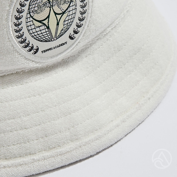 Adidas BUCKET HAT 白 趣味圖案 休閒 漁夫帽 H62038