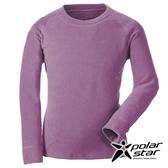 PolarStar 中性 圓領刷毛保暖衣『粉紫』 P18207 戶外│休閒│登山│露營│機能衣│刷毛衣