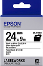LK-6WBD EPSON 標籤帶 (白底黑字/24mm) C53S656407