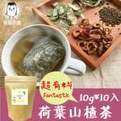 荷葉山楂茶 10入/袋 馬鞭草荷葉茶 決...