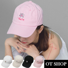 OT SHOP帽子‧簡約可愛貓掌肉球刺繡...