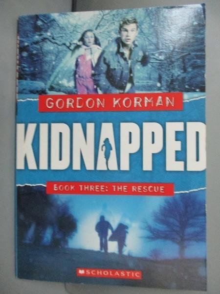 【書寶二手書T9/少年童書_ISN】The Rescue_Korman, Gordon