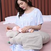 【免運】丫麻山崎哺乳枕頭抱娃神器嬰兒喂奶躺喂解放雙手坐月子護腰枕外出