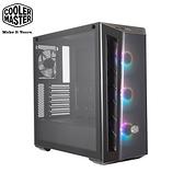 酷碼 MasterBox MB520 ARGB 顯卡長41/CPU高16.5/玻璃透側/深黑鏡面面板/ATX 機殼