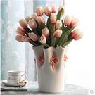 陶瓷花瓶客廳餐桌擺件現代簡約家居裝飾品電...