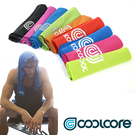 COOLCORE Chill Sport 涼感運動毛巾/ 城市綠洲 (涼感降溫、運動戶外、高性能針織)