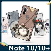 三星 Galaxy Note 10/10+ 彩繪Q萌保護套 軟殼 卡通塗鴉 超薄防指紋 全包款 矽膠套 手機套 手機殼