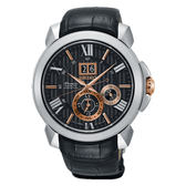 SEIKO Premier 新廣告款人動電能自動追時萬年曆腕錶 (SNP149J2)7D56-0AE0ESNP