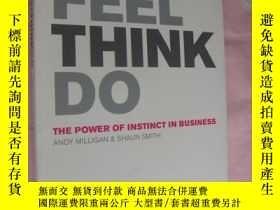 二手書博民逛書店SEE罕見FEEL THINK DO (The Power of