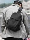 熱賣胸包男 新款時尚男士胸包休閒大容量側背斜背包多功能斜背包男包 coco