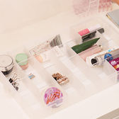 ✭慢思行✭【J112-2】28格可拆儲物收納盒 透明 飾品 首飾 有蓋 多格 創意 分類 藥盒 材料 手作