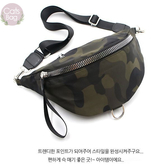 Catsbag|高質感純色|迷彩大容量斜背包|腰包|防水尼龍|0024