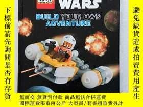 二手書博民逛書店Lego罕見Star Wars: Build Your Own Adventure(精裝、16開)Y11016